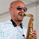 Miguel Zenon performs at Newport Jazz.