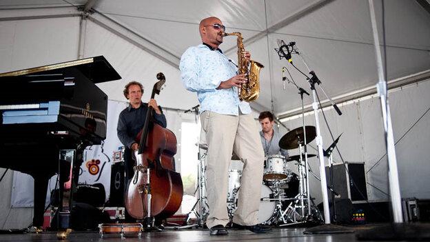 Miguel Zenon Quartet performs at Newport Jazz.