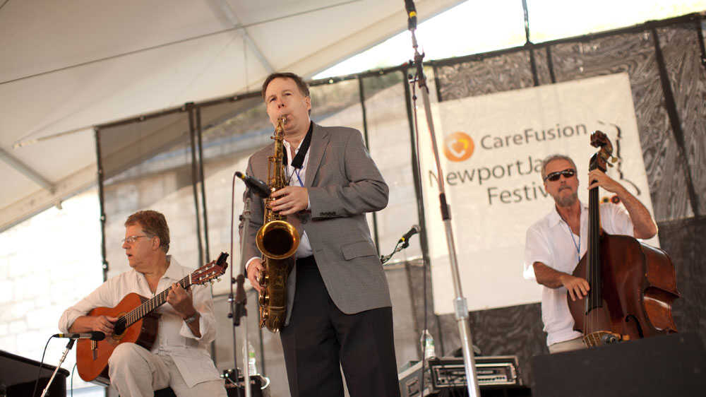 Trio Da Paz With Harry Allen In Concert: Newport Jazz Festival 2010