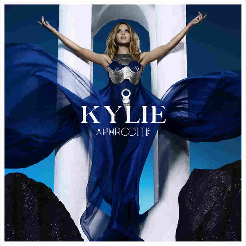 album cover for 'Aphrodite' by Kylie Minogue