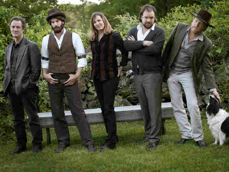 Ray LaMontagne and group