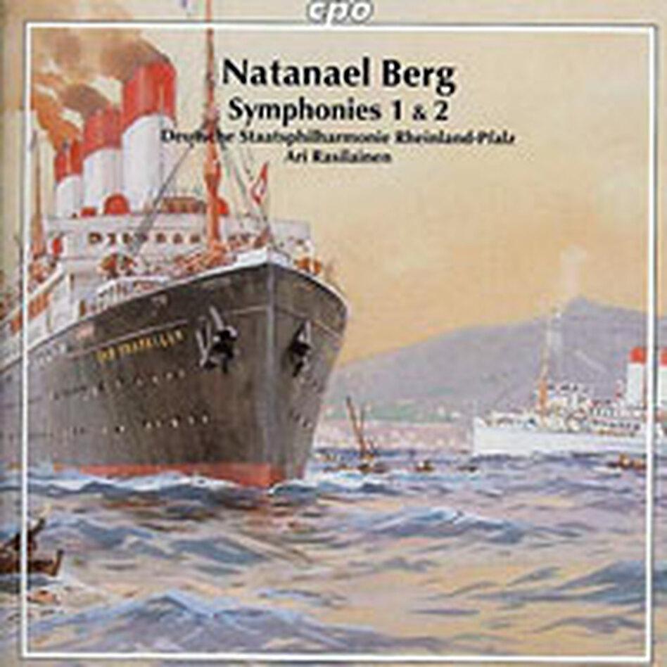 Cover for Natanael Berg: Symphonies Nos. 1 & 2
