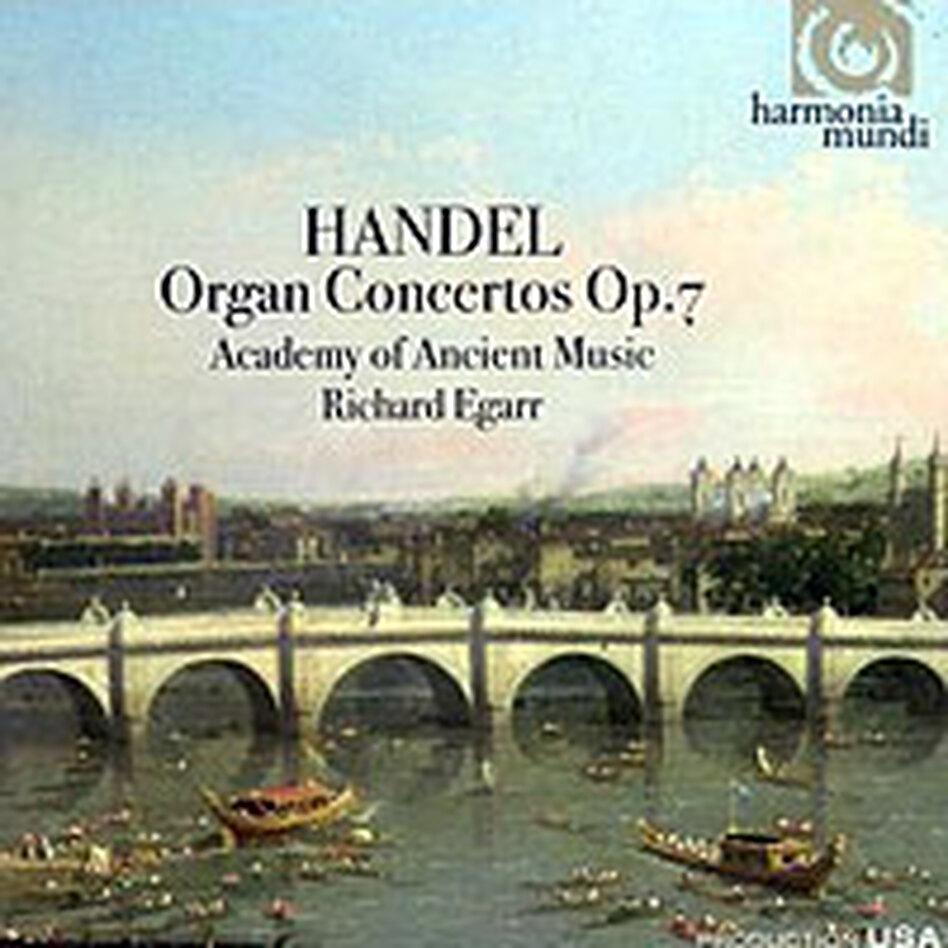 Cover for Handel: Organ Concertos, Op. 7