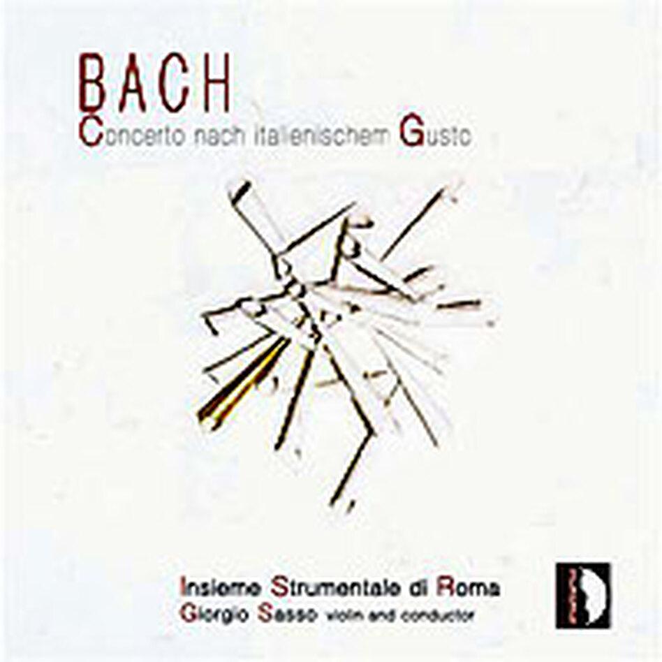 Cover for J.S. Bach: Italienischer Gusto