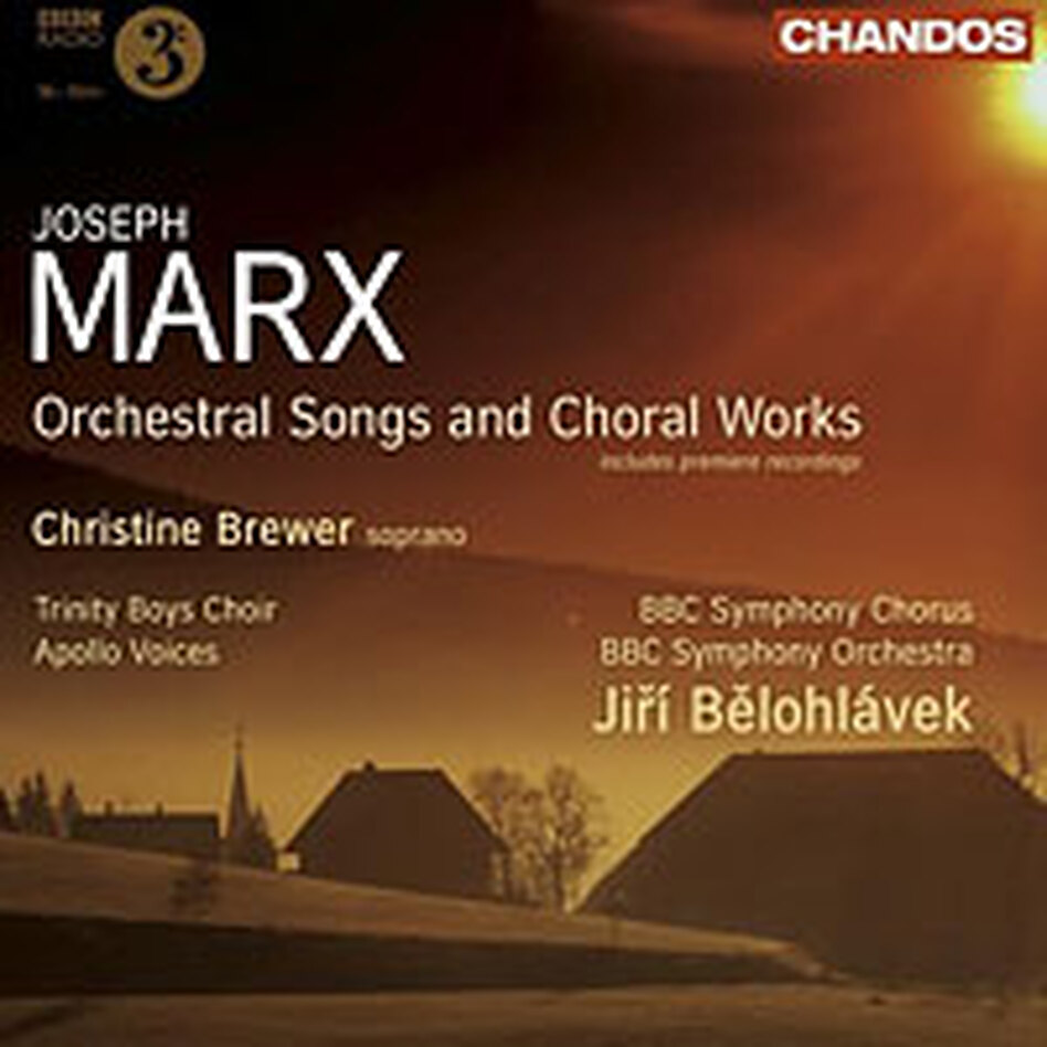 Cover for Joseph Marx: Orchestral Songs and Choral Works