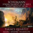 Cover for Schumann: String Quartet, Op. 41/3; Piano Quintet, Op. 44