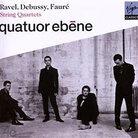 Cover for Quatuor Ébène Performs Ravel, Debussy & Fauré