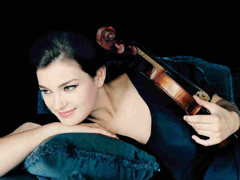 Violinist Janine Jansen