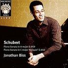 Cover for Schubert: Piano Sonata in A major D959; Piano Sonata in C major 'Reliquie' D840