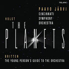 Cover for Holst: The Planets; Britten: The Young Person's Guide to the Orchestra