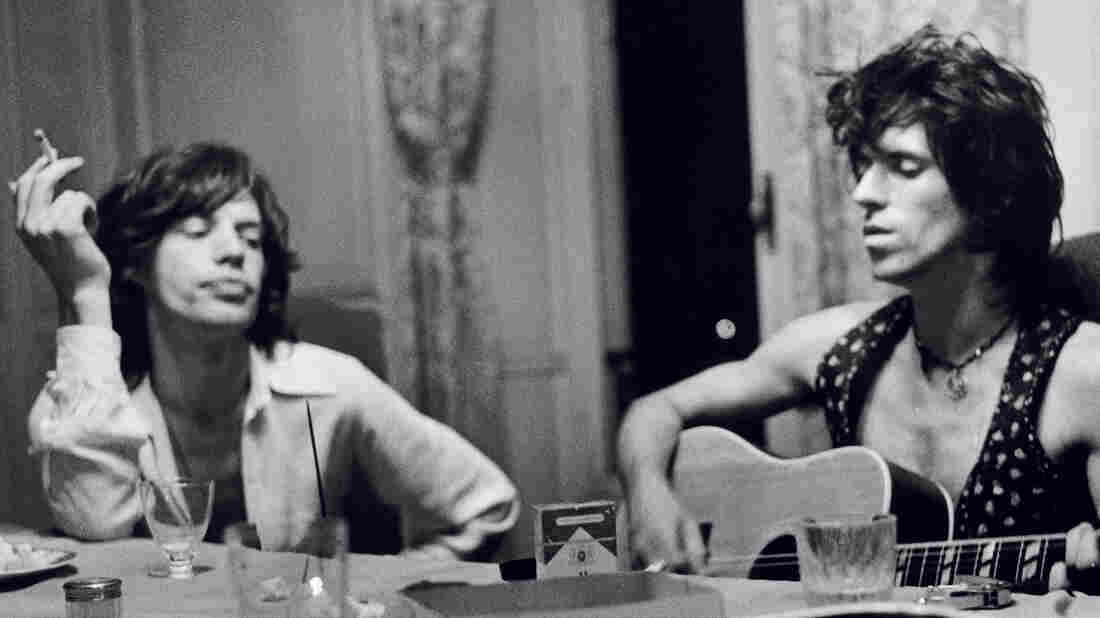 Mick Jagger and Keith Richards; photo credit Dominique Tarl