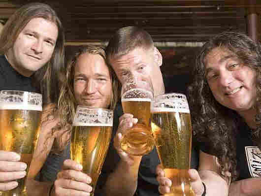 Tankard doing what they do best: drinking
