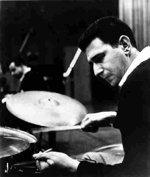 Shelly Manne achieved many tonal colors in drumming by using sticks, brushes, mallets, his hands... whatever it took to get the sound he wanted.