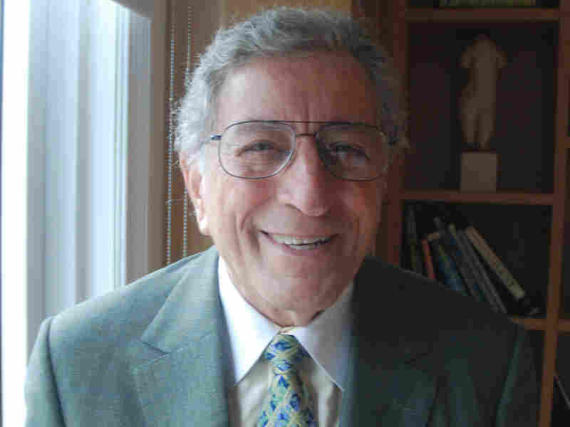 "At his painting studio in Manhattan, Tony Bennett says his favorite summer song is ""It Was Me."""