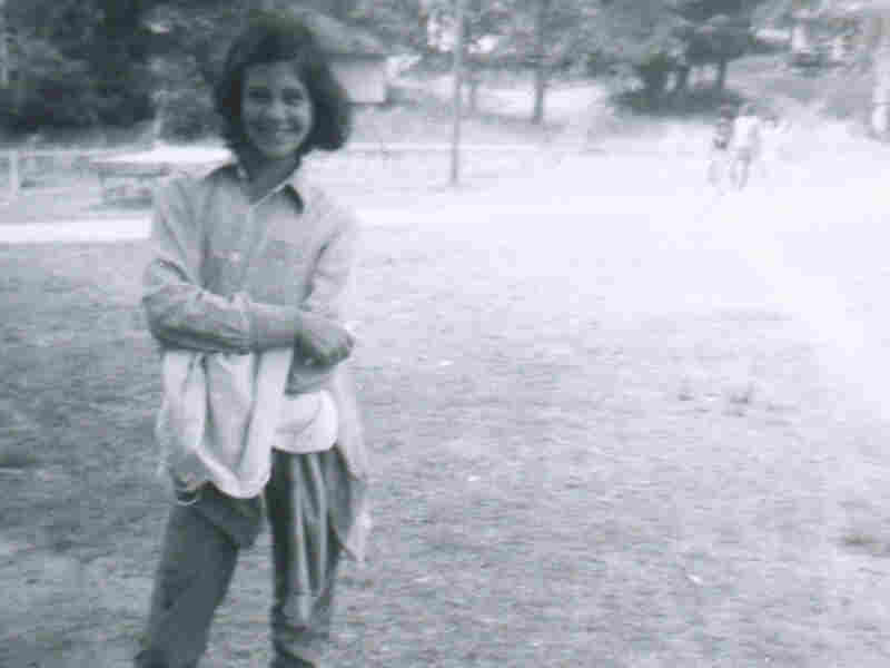 Melissa Block circa 1974 at Camp Kokosing