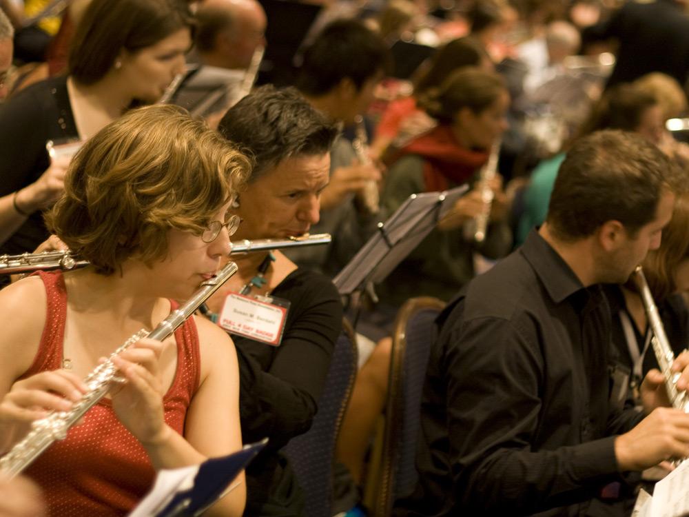 Andrea Echeverri: A Whole Lot Of Flutes Going On : NPR