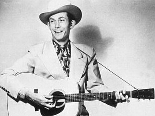 "Hank Williams circa 1945. His ""Jambalaya (On the Bayou)"" was released in 1952."