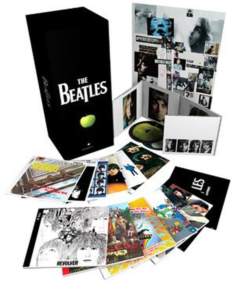 The Beatles stereo box set.