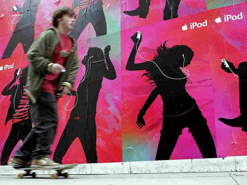 iPod Skateboarder