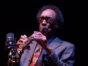 Saxophonist Sam Rivers