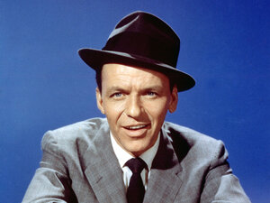Frank Sinatra: Credit Michael Ochs Archives/ Getty Images