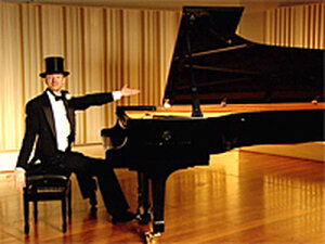 Guy Livingston as Fred Astaire