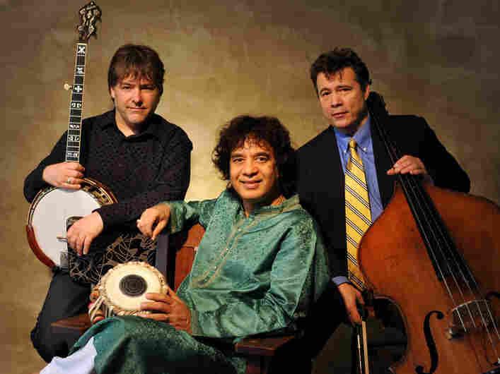 Bela Fleck, Zakir Hussain and Edgar Meyer