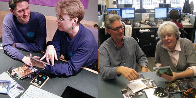Ned Wharton with Liane Hansen custom wide