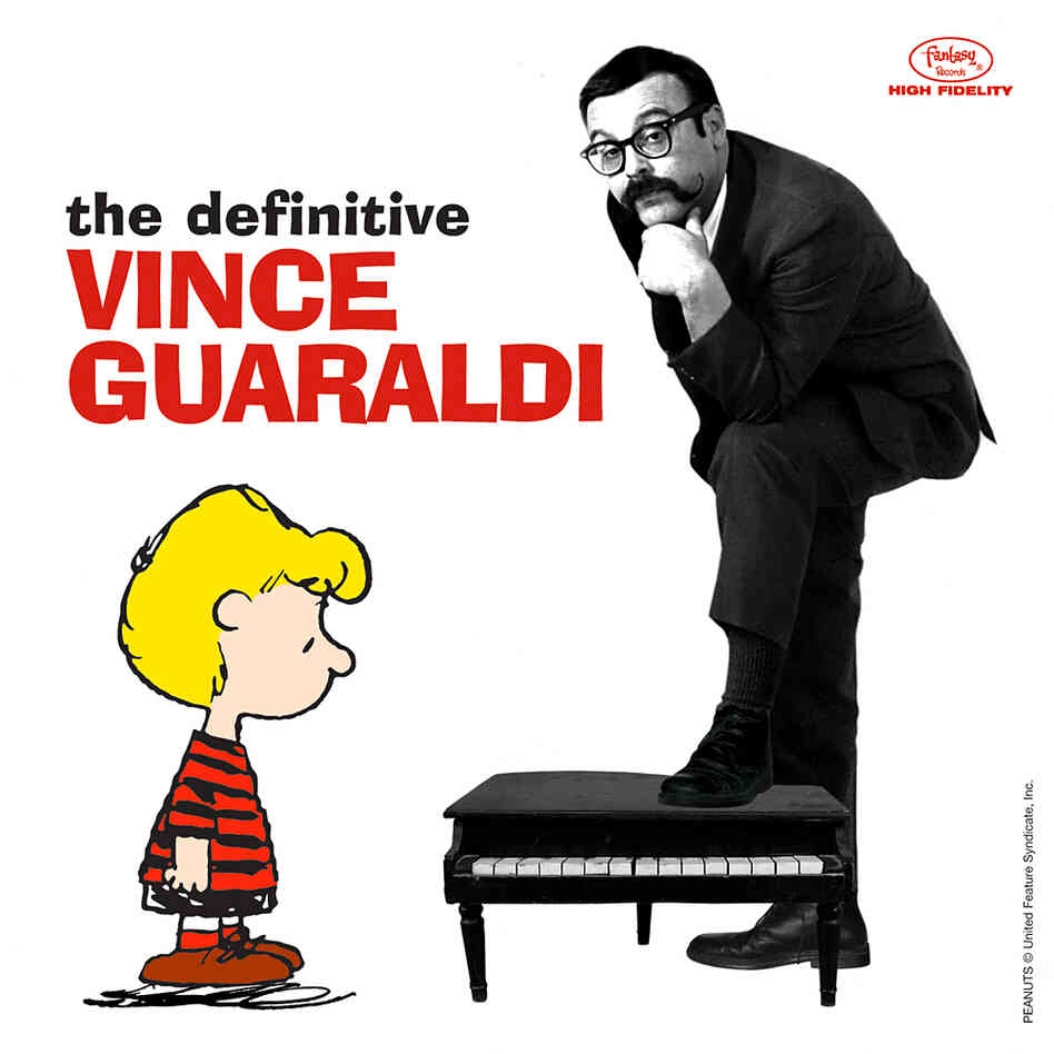 cover to The Definitive Vince Guaraldi