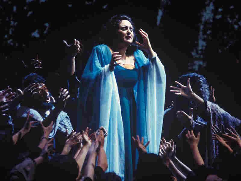 m-Rehearsal for Opening Night at New York City Opera.