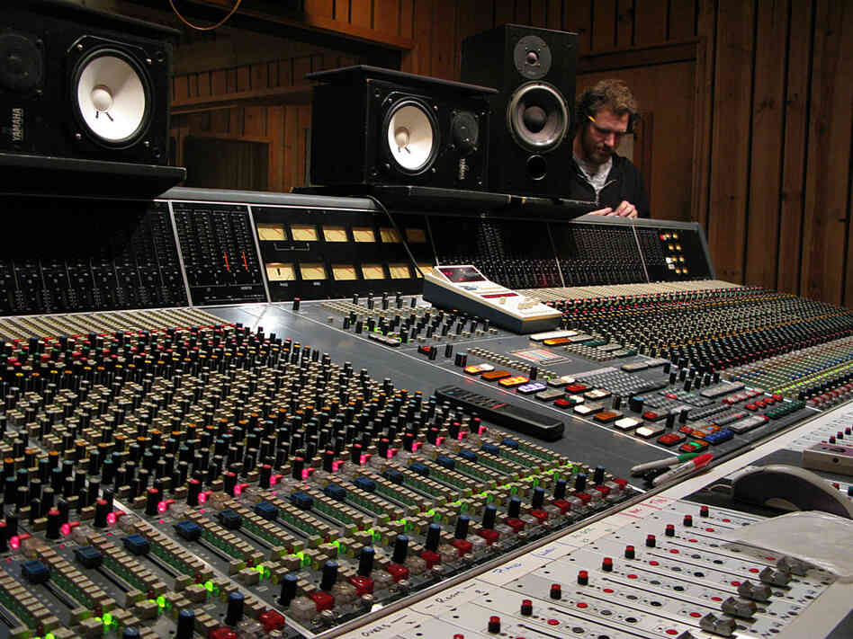 The 72-track Neve console at Avatar Studios