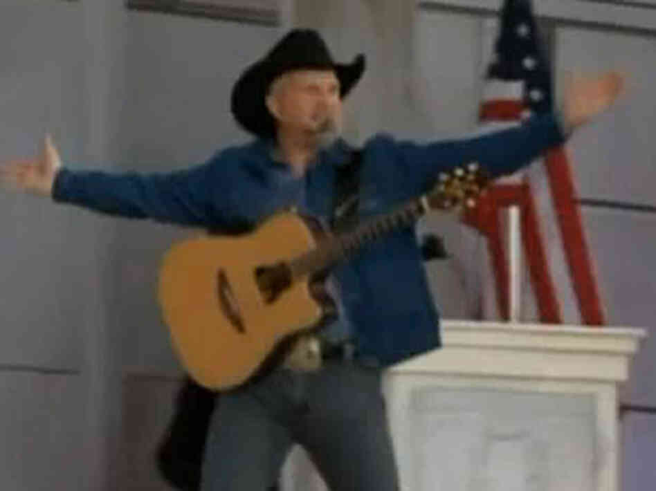 Garth Brooks Inauguration Video