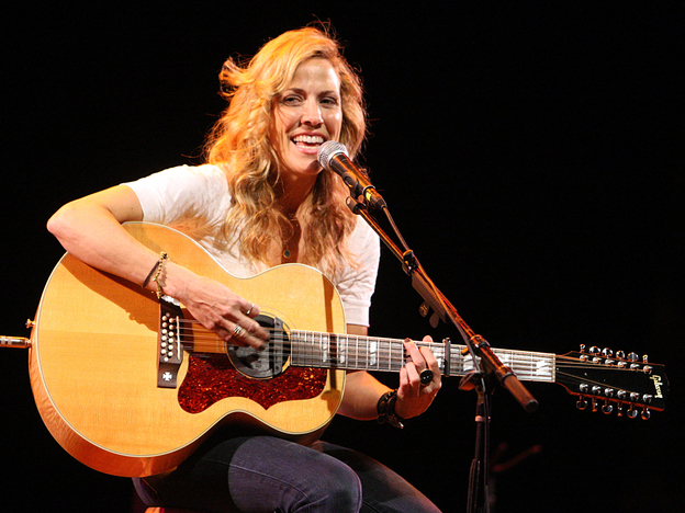 Sheryl Crow performs at the Children Mending Hearts Gala in Hollywood on Feb. 18, 2009. (Getty Images)
