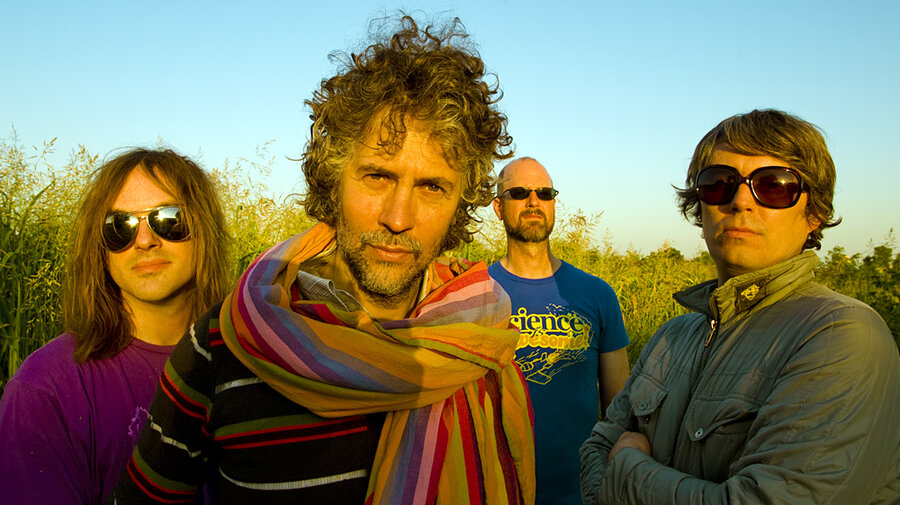 Flaming lips watching the planets