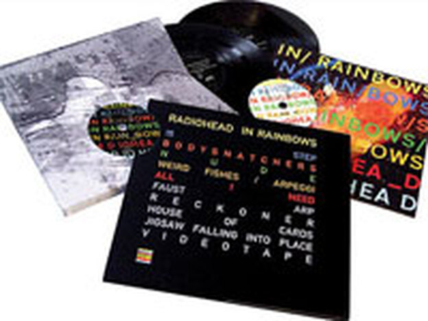 Radiohead also released <em>In Rainbows</em> as an extravagant box set.