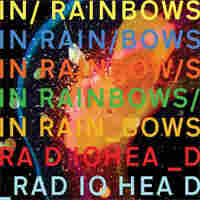 Cover to Radiohead's In Rainbows