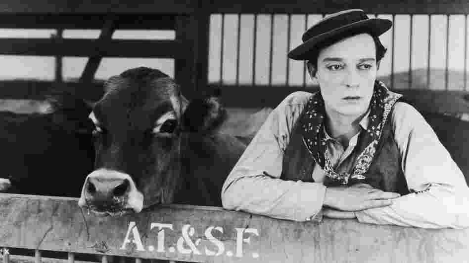 Buster Keaton in 'Go West'