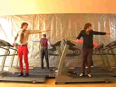 OK Go's Here It Goes Again video; courtesy of the artists