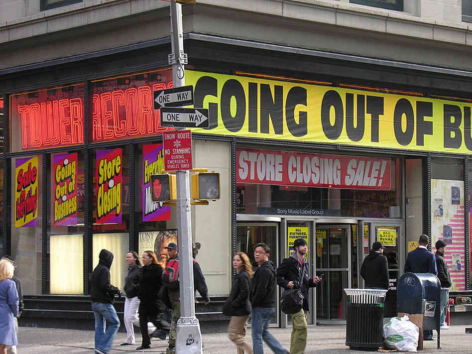 2006 And The Death Of Tower Records : NPR
