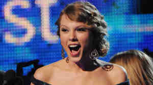 Taylor Swift took home four statues from the 52nd Grammy Awards.