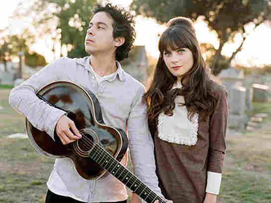 Zooey Deschanel and M. Ward