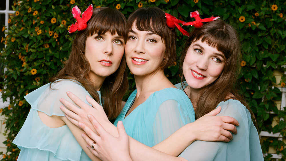 The Living Sisters: Perfecting The Three-Part Harmony