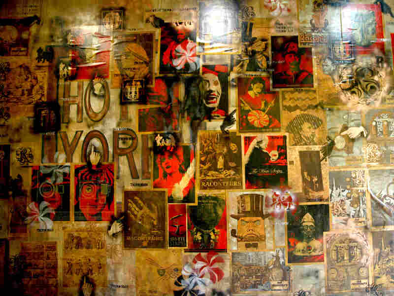 One of the interior walls at Third Man