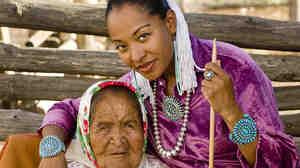 Radmilla Cody and her grandmother