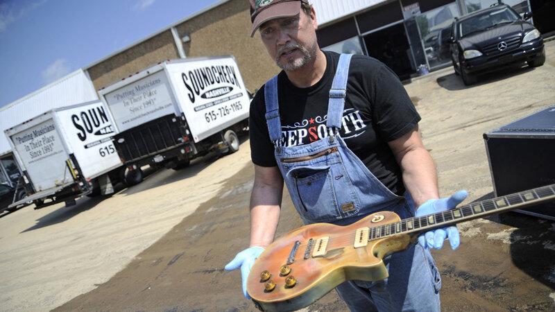 Floods Wreak Havoc On Nashville Music Scene : NPR