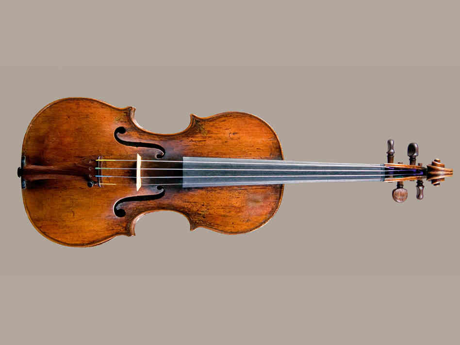 Amati Violin*: Credit  National Music Museum, University of South Dakota, Vermillion.