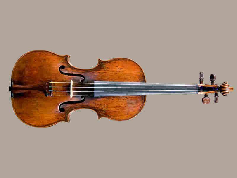 Amati Violin*: Credit  National Music Museum, University of South Dakota, Vermillion.