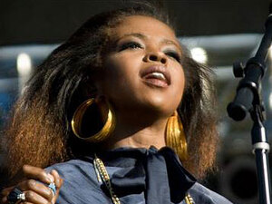 Lauryn Hill at the Harmony  Festival in June; courtesy of the Harmony Festival
