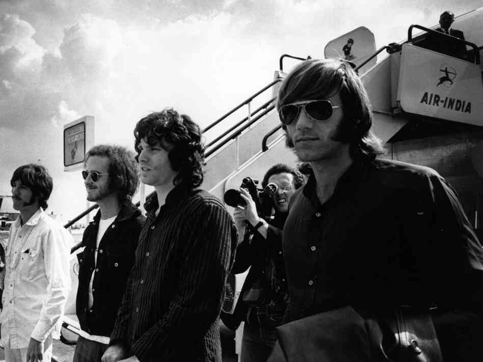 The Doors, photographed in 1968.
