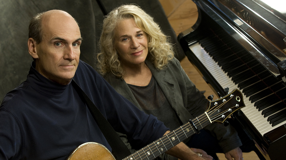 carole king james taylor together 40 years later npr. Black Bedroom Furniture Sets. Home Design Ideas